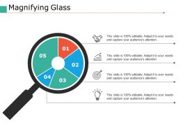 Magnifying Glass Ppt Pictures Maker