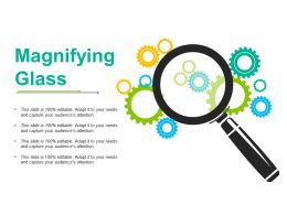 Magnifying Glass Ppt Portfolio Topics