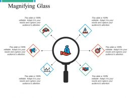 Magnifying Glass Ppt Powerpoint Presentation File Design Templates