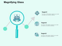 Magnifying Glass Ppt Powerpoint Presentation File Designs Download