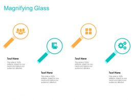Magnifying Glass Ppt Powerpoint Presentation File Grid
