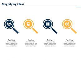 Magnifying Glass Ppt Powerpoint Presentation File Portfolio