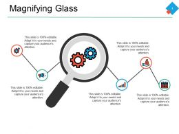 Magnifying Glass Ppt Powerpoint Presentation Pictures Tips