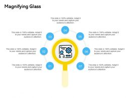 Magnifying Glass Ppt Powerpoint Presentation Professional Deck