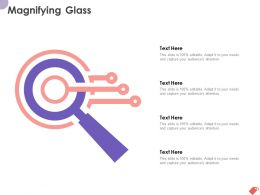 Magnifying Glass Ppt Powerpoint Presentation Professional Format Ideas