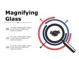 Magnifying Glass Ppt Professional Maker
