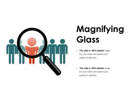 Magnifying Glass Ppt Sample