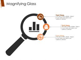 Magnifying Glass Ppt Sample File