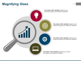 Magnifying Glass Ppt Sample Presentations