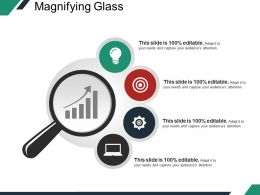 Magnifying Glass Ppt Sample Template 2