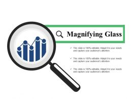 Magnifying Glass Ppt Slide