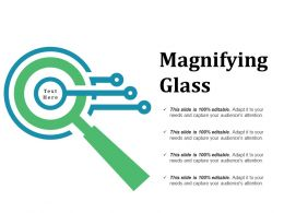 Magnifying Glass Ppt Slides Download