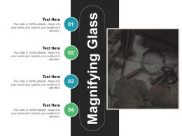 Magnifying Glass Ppt Slides Example Introduction