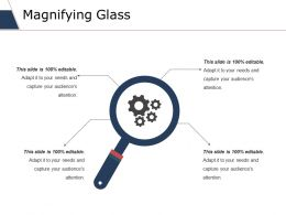 Magnifying Glass Ppt Slides Icons