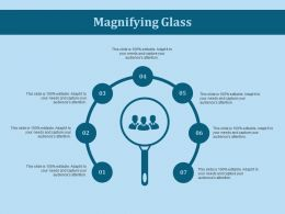 Magnifying Glass Ppt Slides Professional