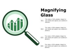 Magnifying Glass Ppt Styles Design Templates