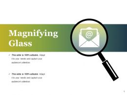 Magnifying Glass Ppt Styles Graphics Tutorials
