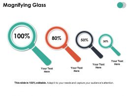 Magnifying Glass Ppt Summary Styles