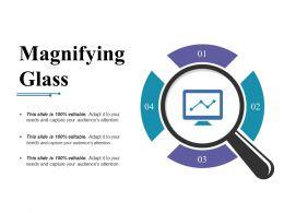 Magnifying Glass Presentation Backgrounds