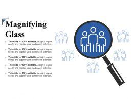 Magnifying Glass Presentation Diagrams