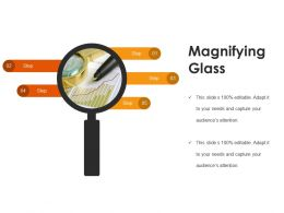 Magnifying Glass Presentation Graphics