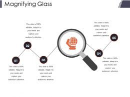 Magnifying Glass Presentation Slides Template 1