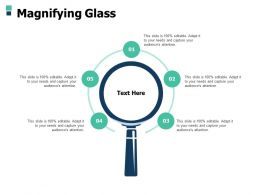 Magnifying Glass Research A500 Ppt Powerpoint Presentation Gallery Aids