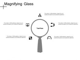 Magnifying Glass Research D303 Ppt Powerpoint Presentation File Deck