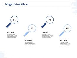 Magnifying Glass Research Planning Ppt Powerpoint Presentation Slides Elements