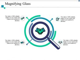 Magnifying Glass Research Ppt Layouts Example Introduction