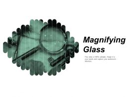 Magnifying Glass Research Ppt Powerpoint Presentation Professional Icon