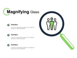 Magnifying Glass Technology C142 Ppt Powerpoint Presentation File Guide
