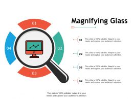 Magnifying Glass Technology C300 Ppt Powerpoint Presentation Professional Ideas