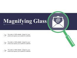 Magnifying Glass Technology C343 Ppt Powerpoint Presentation File Portfolio