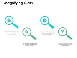 Magnifying Glass Technology H144 Ppt Powerpoint Presentation Professional Microsoft