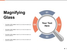Magnifying Glass Technology K37 Ppt Powerpoint Presentation Outline Templates
