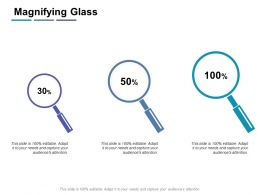 Magnifying Glass Technology K44 Ppt Powerpoint Presentation Infographic Template Picture
