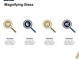 Magnifying Glass Technology L438 Ppt Powerpoint Presentation Deck