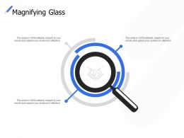 Magnifying Glass Technology Marketing C286 Ppt Powerpoint Presentation Ideas Images