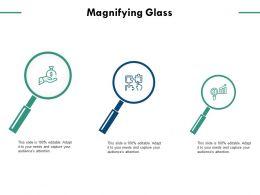 Magnifying Glass Technology Marketing C722 Ppt Powerpoint Presentation Visual Aids Portfolio