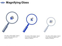 Magnifying Glass Technology Marketing C763 Ppt Powerpoint Presentation Icon Professional