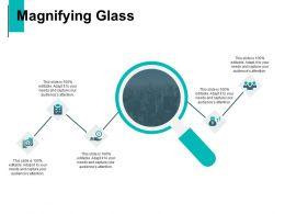 Magnifying Glass Technology Marketing C773 Ppt Powerpoint Presentation Visual Aids Styles