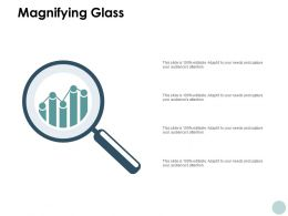 Magnifying Glass Technology Marketing C831 Ppt Powerpoint Presentation File Infographics