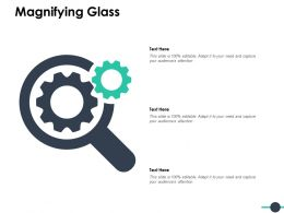 Magnifying Glass Technology Marketing C848 Ppt Powerpoint Presentation File Example