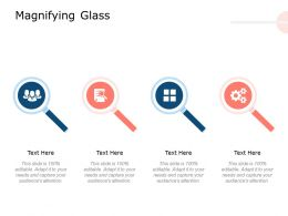 Magnifying Glass Technology Planning Ppt Powerpoint Presentation Slides Inspiration