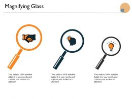 Magnifying Glass Technology Ppt Powerpoint Presentation Icon Guidelines