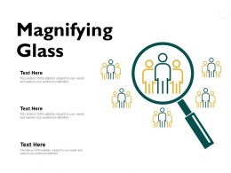 Magnifying Glass Technology Ppt Powerpoint Presentation Model Pictures