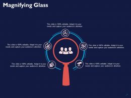 Magnifying Glass Technology Ppt Powerpoint Presentation Outline Guide