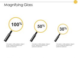 Magnifying Glass Technology Testing E384 Ppt Powerpoint Presentation Styles Inspiration