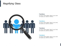 Magnifying Glass Testing L615 Ppt Powerpoint Presentation Outline Design